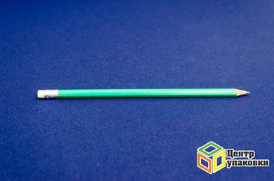 Карандаш грифельный пластик НВ 121228-03 зеленый (1-12шт.)