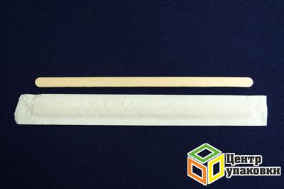 Размешиватель дерев 190мм в инд упак (1-10-1000шт) OPTILINE