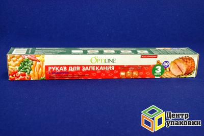 Рукав для запекания 30-3м в футляре с завяз Optiline(1-24шт)