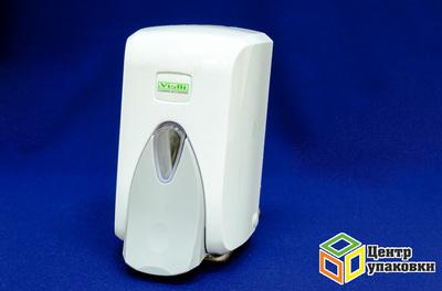 Диспенсер для жидкого мыла 500 мл белый 1шт