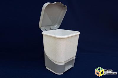 Контейнер для мусора педальный 8л 427(6)ПБ (11шт)