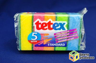 Губка для сантехники 137 Tetex (1-80шт)
