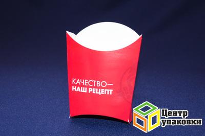 Коробка для картофеля фри Средняя девочка (1-500-50шт.)