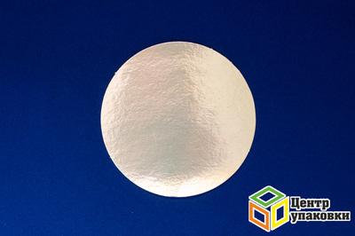 Подложка зол круг 180 мм одност лам (1-100шт)