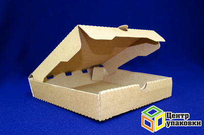 Коробка картонная под пиццу 25-25-50 мгк (1-100шт)