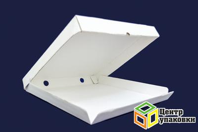 Коробка картонная под пиццу 33-33см БЕЛАЯ (150шт)