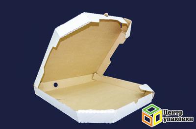 Коробка картонная под пиццу 35-35см с обрезн углами (150шт)