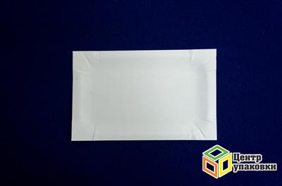 Тарелка картон 1117см белая, ламин (12000100шт)