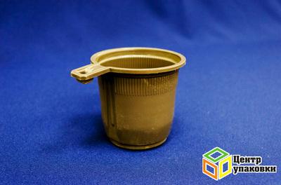 Чашка кофейная 200мл коричневая (1150050шт) Фопос