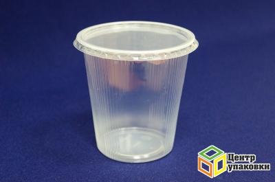 Контейнер круглый 500мл У-Юнити (1-1000-50шт), Крышка круглая д-контейн. У-Ю (1-1000-50шт)