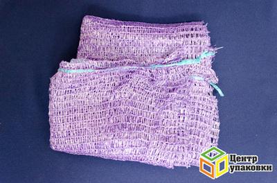 Сетка-мешок с завязк фиолет 50-80 40кг (1-3000-100шт)
