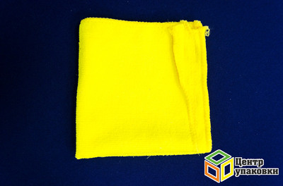 Салфетка микрофибра 30-30 см для оптики (1-100-10шт)