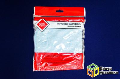 Салфетка микрофибра 30-30 см универсальная (1-100-10шт)