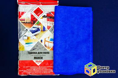 Салфетка микрофибра 70-80 см для полов (1-50-5шт)