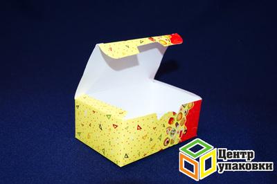Коробка на вынос Fast Food 115×75×45мм (1-400-100шт.)
