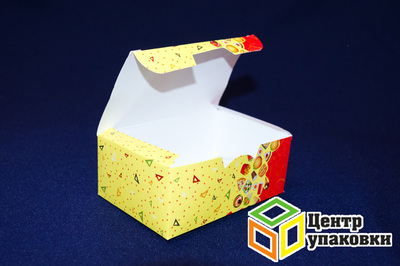 Коробка на вынос Fast Food 150×91×70мм (1-225-75шт.)