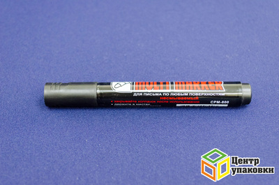 Маркер перманентный Mulri-Marker CPM-800 3мм черный CROWN (1-12шт.)