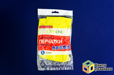 Перчатки резинов Optiline L (1-240-12шт)