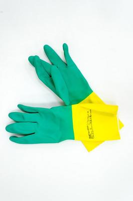 Перчатки резинов Vileda усиленные М (15010 пар)