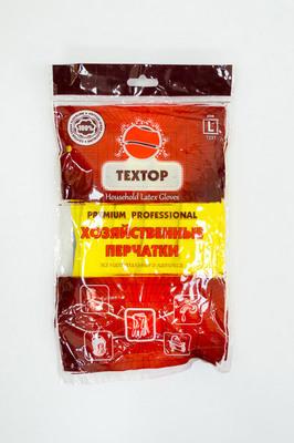 Перчатки резинов. TEXTOP L (114412шт)