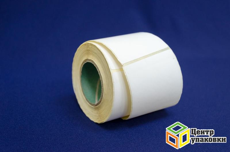 Этикетка самоклеющаяся 58×40мм (550шт.) (48шт./ 8шт./уп.) эко-пуст