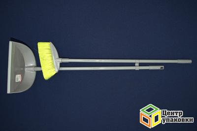Щетка+совок набор Лень с резинкой (120шт)