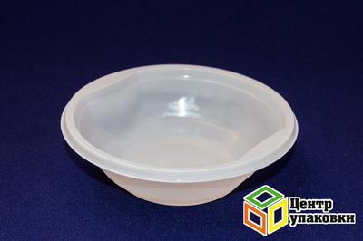 Миска суповая 475мл PP (1-1000-50шт) бел Мистерия