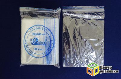 Пакет с замком 150-200мм (1-4000-100шт) EXTRA
