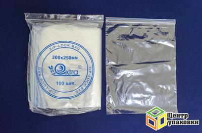 Пакет с замком 200-250мм (1-2000-100шт) EXTRA