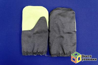 Рукавицы утепленные ватин с брезентовым наладонником (5-100)