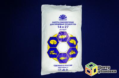 Пакет фасов ПНД 14+8-26 (1101000шт) КОЛОС