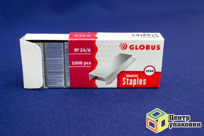 Скобы №246 Globus 4141501 (1-20шт.)