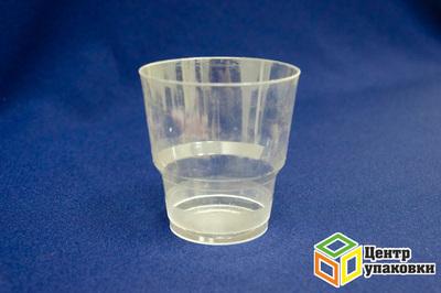 Стакан 220мл прозрачный Кристалл (1-1000-50шт.)