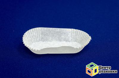 Тарталетки 28×110мм белые овальные (1кор./ 8уп./ 1000шт.)