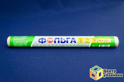 Фольга 30см 10м (1-48шт) алюминиевая эконом в пленке