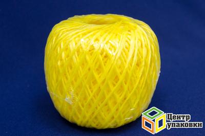 Шпагат PP, ТЕКС 1600, 125 м, 0,2 кг желтый (1-35шт)