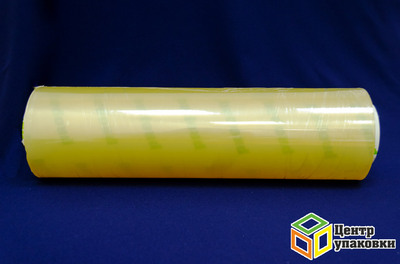 Пленка PVC 300мм 900м OptiFilm 8 мкм желтая (2,676 кг)