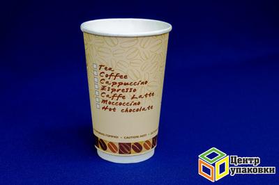 Стакан Thermo 400мл 2слой Чаша с кофе (1-360-18шт)