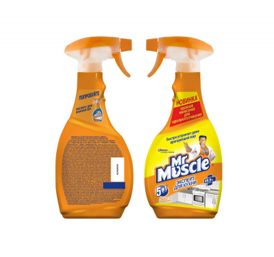 Средство для мытья кухни 450мл Мистер Мускул курок