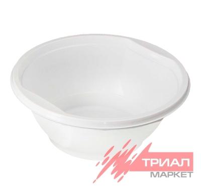 Тарелка суповая п/п 600мл Ми (50 шт.)