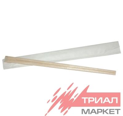 Палочки для еды в индивидуальной упаковке (заостренные) (100 шт.)