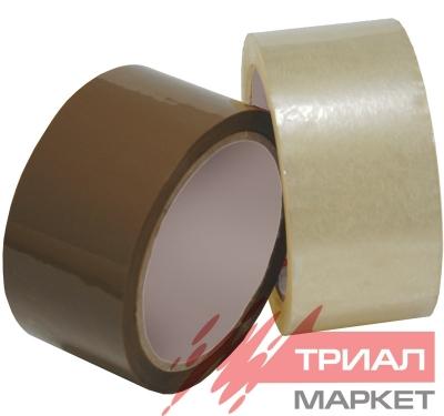 Скотч упаковочный UNIBOB 600 72ммх66м 45мкм прозрачный (4 шт.)
