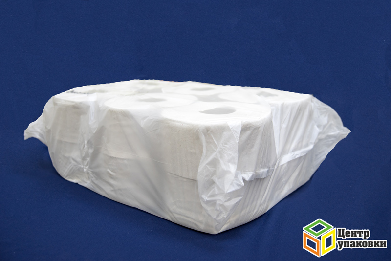 Туал.бумага серая 200м (12рул) с тиснением