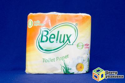 Туал.бумага бел МBelux 2cл 4рул (1-12шт)
