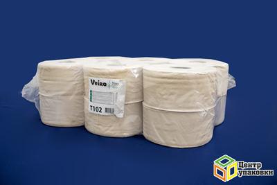 Туалетн.бумага бел. V-сл 2сл 2110, 8см Viero Professional 250л (30шт. кор)