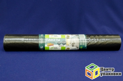 Мус.пакет ПВД 120л 70-110 черн. Optiline30мкм (1-20-10шт в рул)